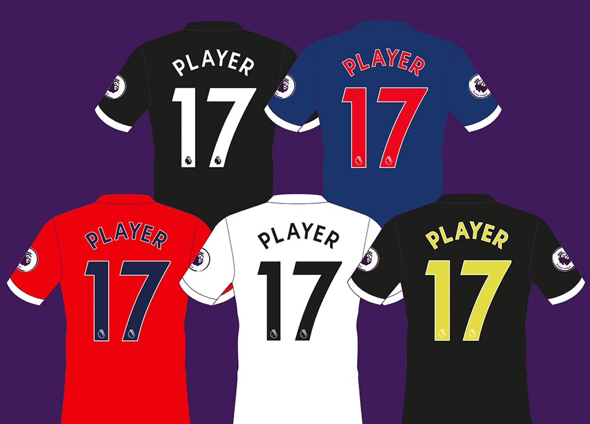 La nueva fuente que se usará desde 2017/18 | Foto Premier League
