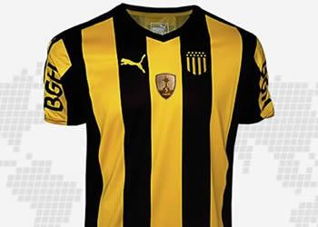 Camiseta titular de Peñarol | Foto Web Oficial