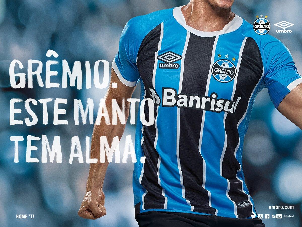 Casaca titular del Grêmio | Foto Umbro