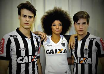 Nuevas casacas del Atlético Mineiro | Foto Web Oficial