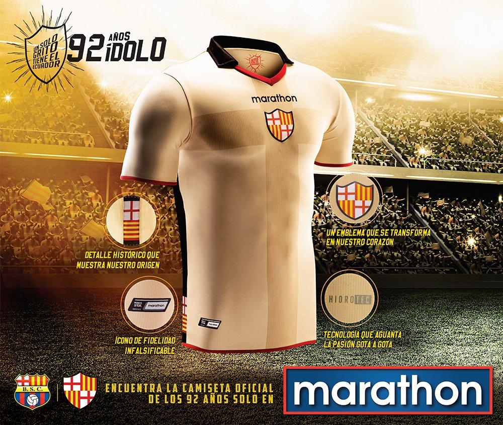 Camiseta especial del Barcelona SC | Foto Marathon