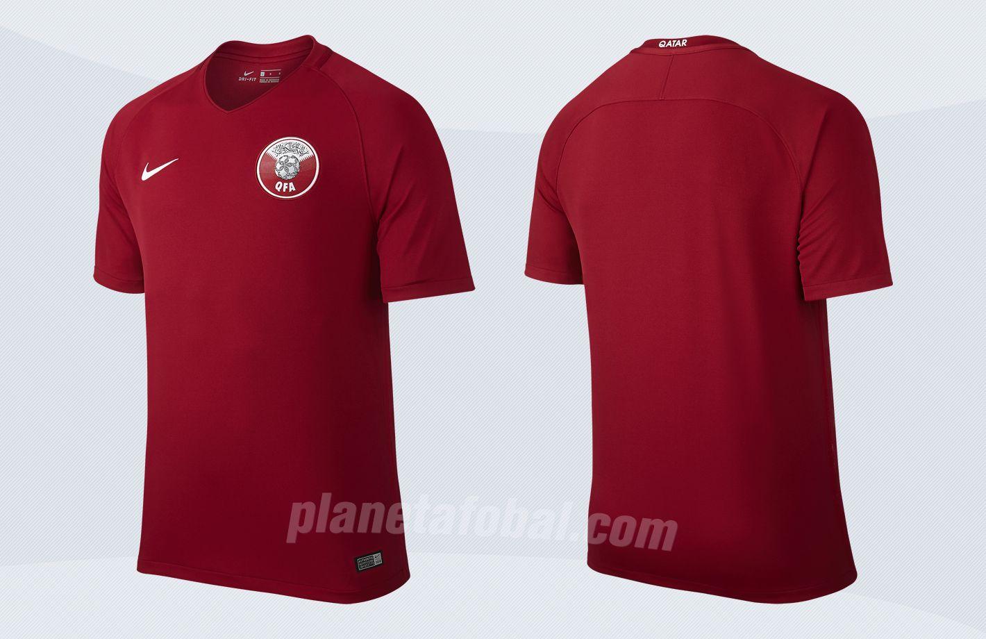 Nueva camiseta de Catar | Imágenes Nike
