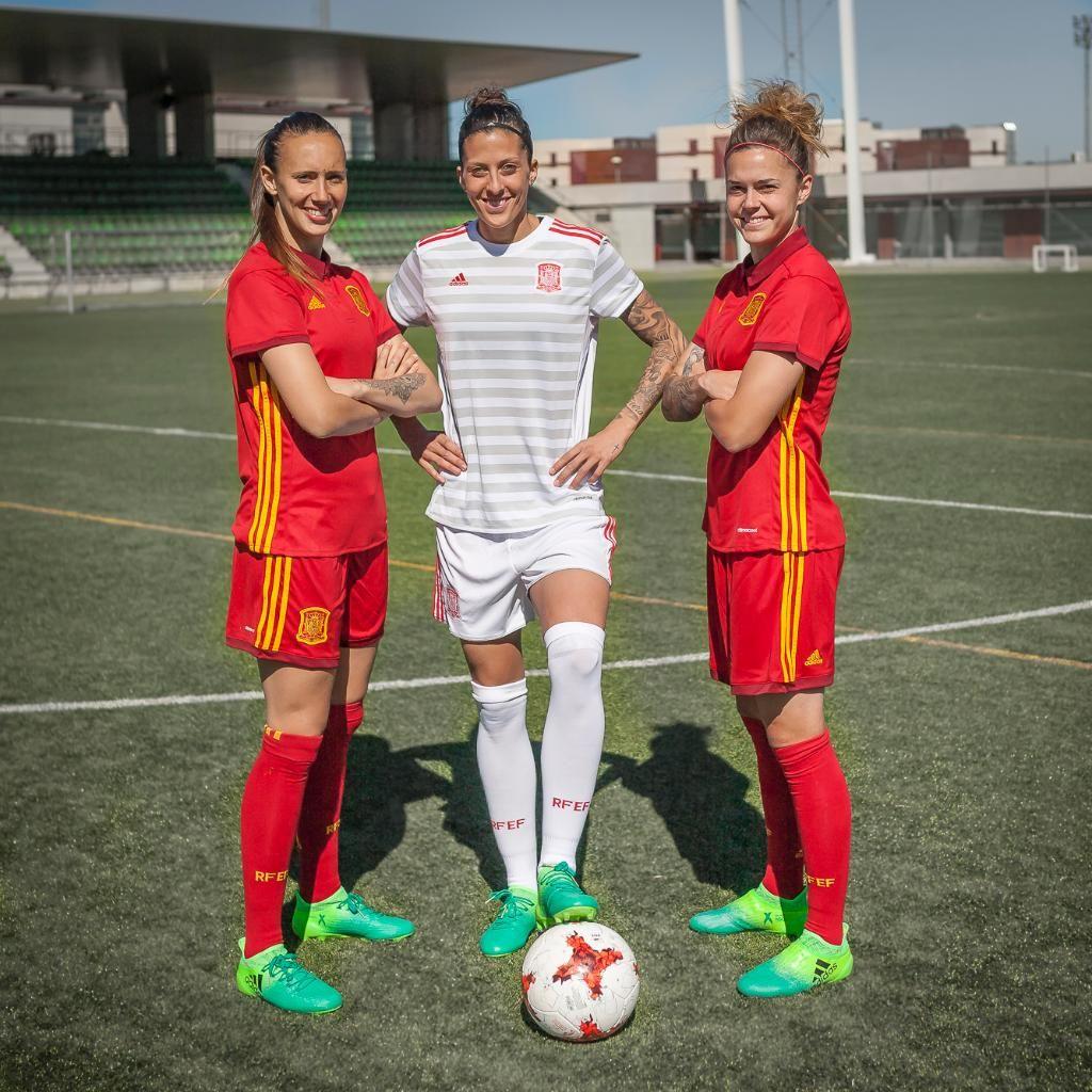 Nuevas camisetas de España | Foto Adidas