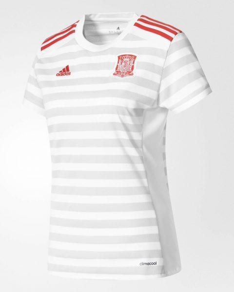 Camiseta suplente de la selección española | Foto Adidas