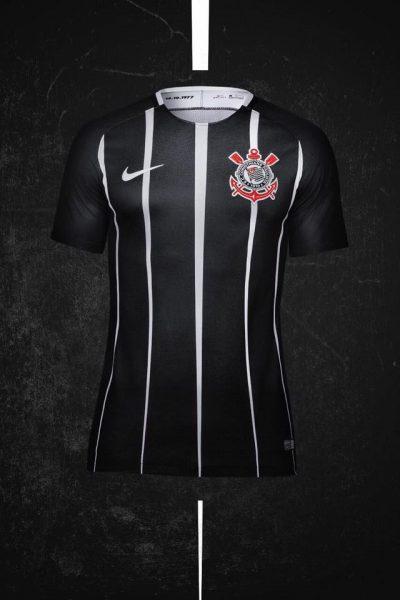 Nueva camiseta suplente del Corinthians | Foto Web Oficial