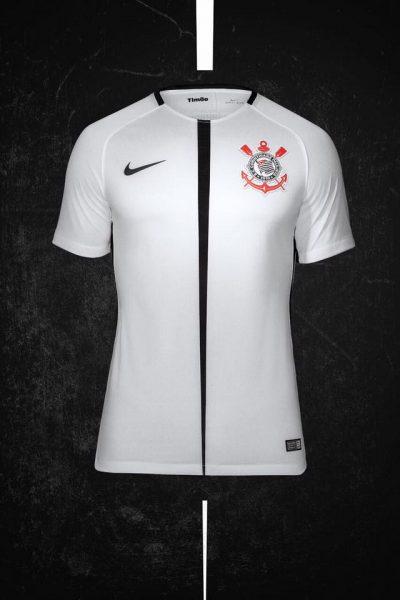 Nueva camiseta titular del Corinthians | Foto Web Oficial