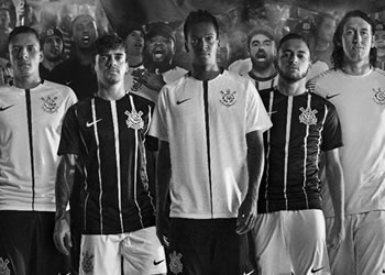 Nuevas camisetas del Corinthians | Foto Web Oficial