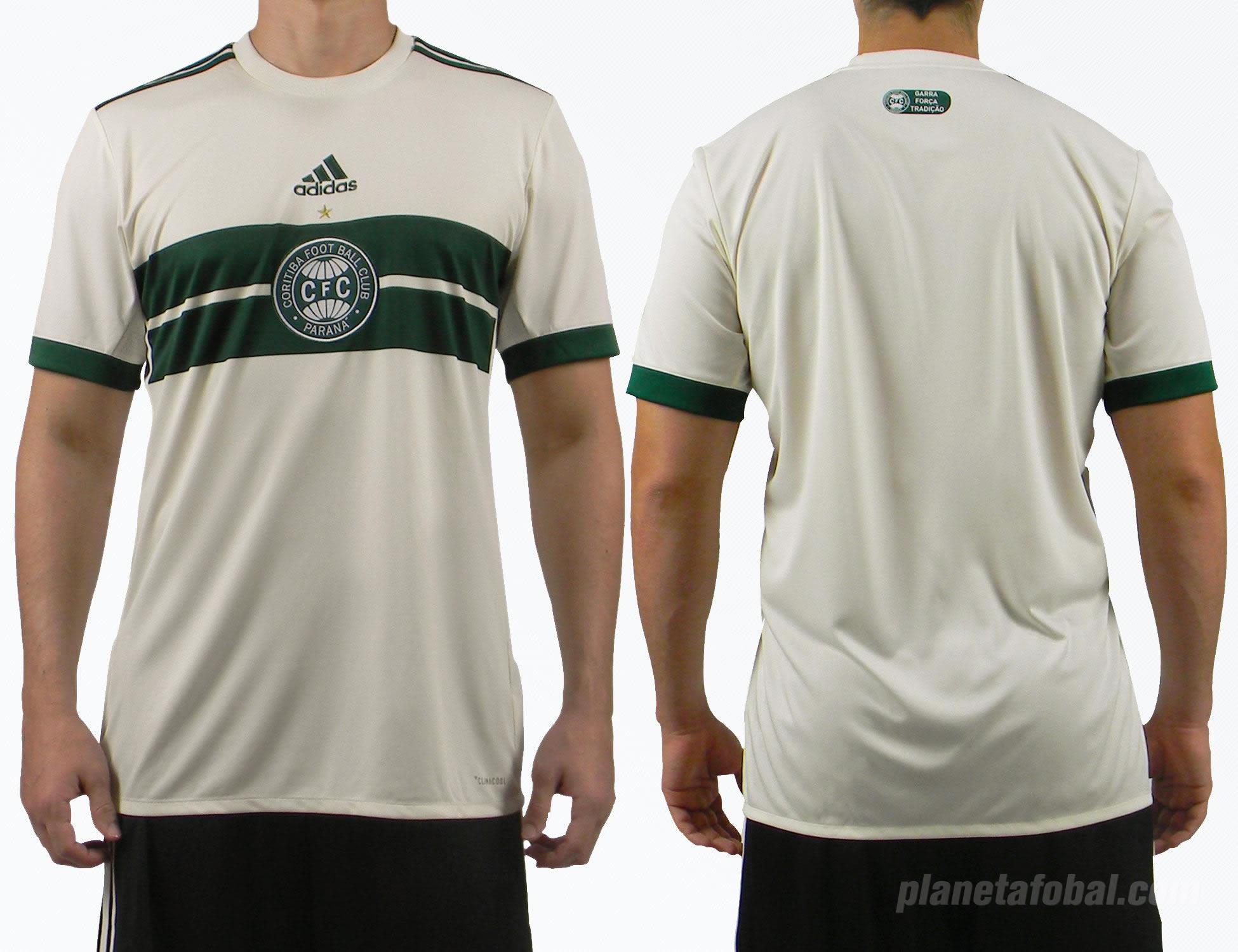 Nueva camiseta del Coritiba | Imágenes Web Oficial