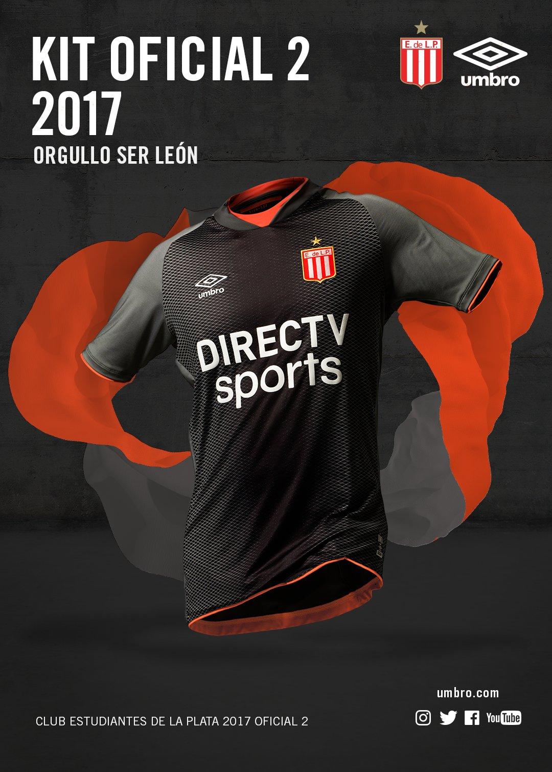 Nueva camiseta de Estudiantes LP | Foto Umbro