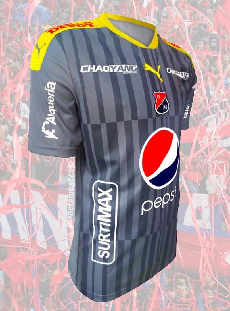 Camisetas Puma de Independiente Medellín 2017  f5d37732a3a83