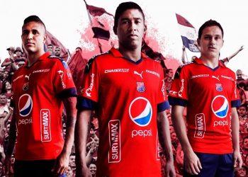 Nueva camiseta titular del DIM | Foto Twitter Oficial