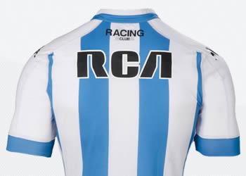 Nueva camiseta titular de Racing | Foto Kappa