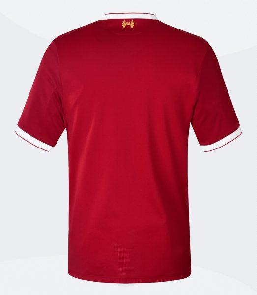 Nueva camiseta del Liverpool FC | Foto New Balance