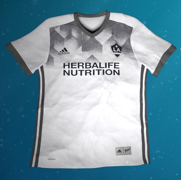 Camiseta ecológica de LA Galaxy | Foto Web Oficial
