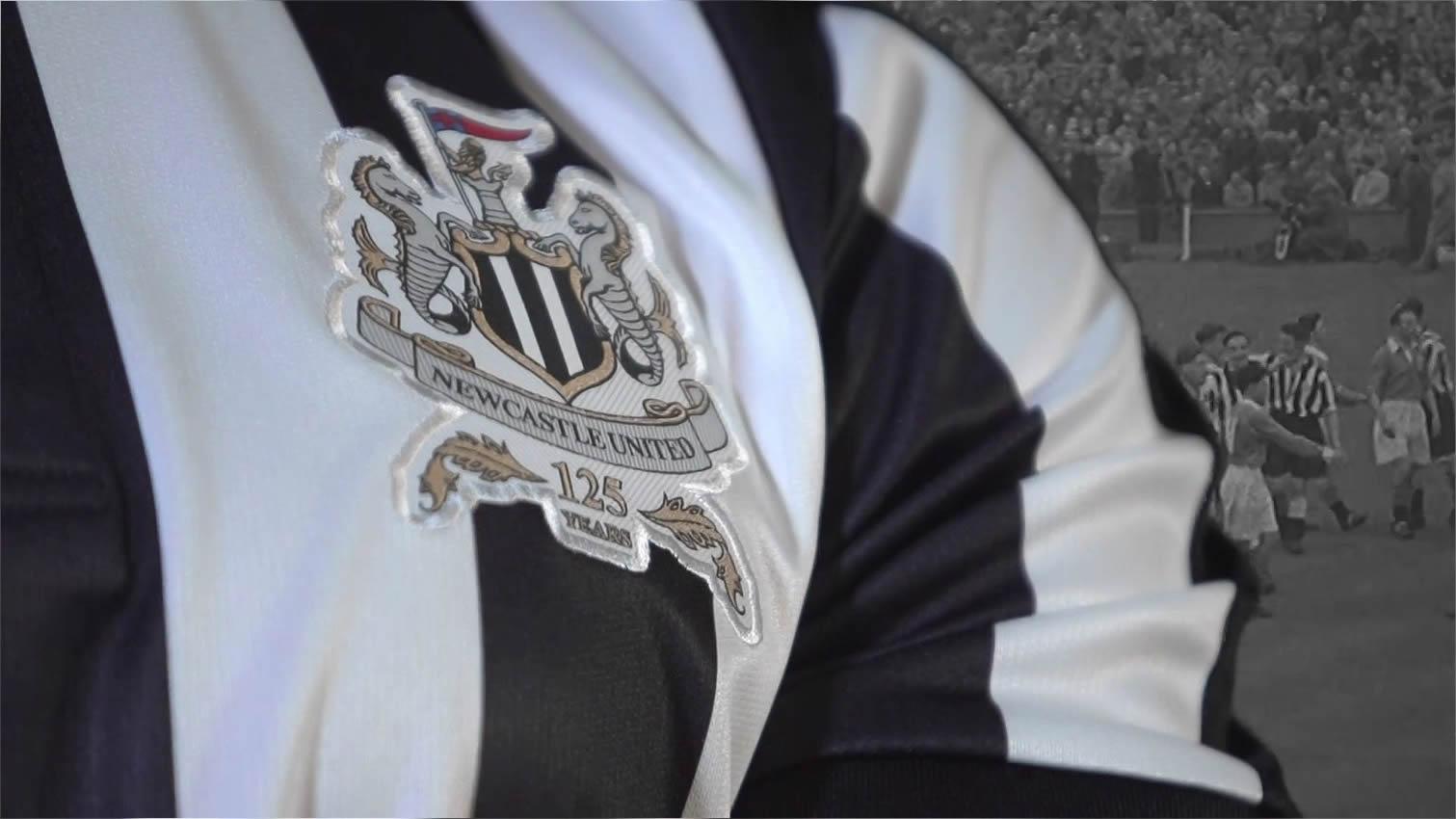Nuevo escudo del Newcastle United | Foto Captura