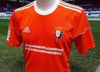 Camiseta especial del Osasuna | Foto Web Oficial