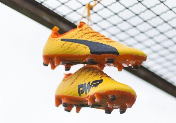 "Botines evoPOWER Vigor ""Ultra Yellow"" | Foto Puma"