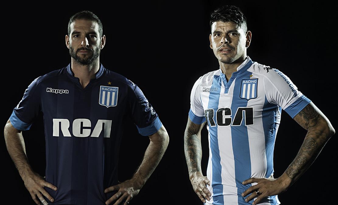 Nuevas camisetas de Racing | Foto Web Oficial