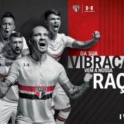 Nueva camiseta titular del São Paulo   Foto Under Armour