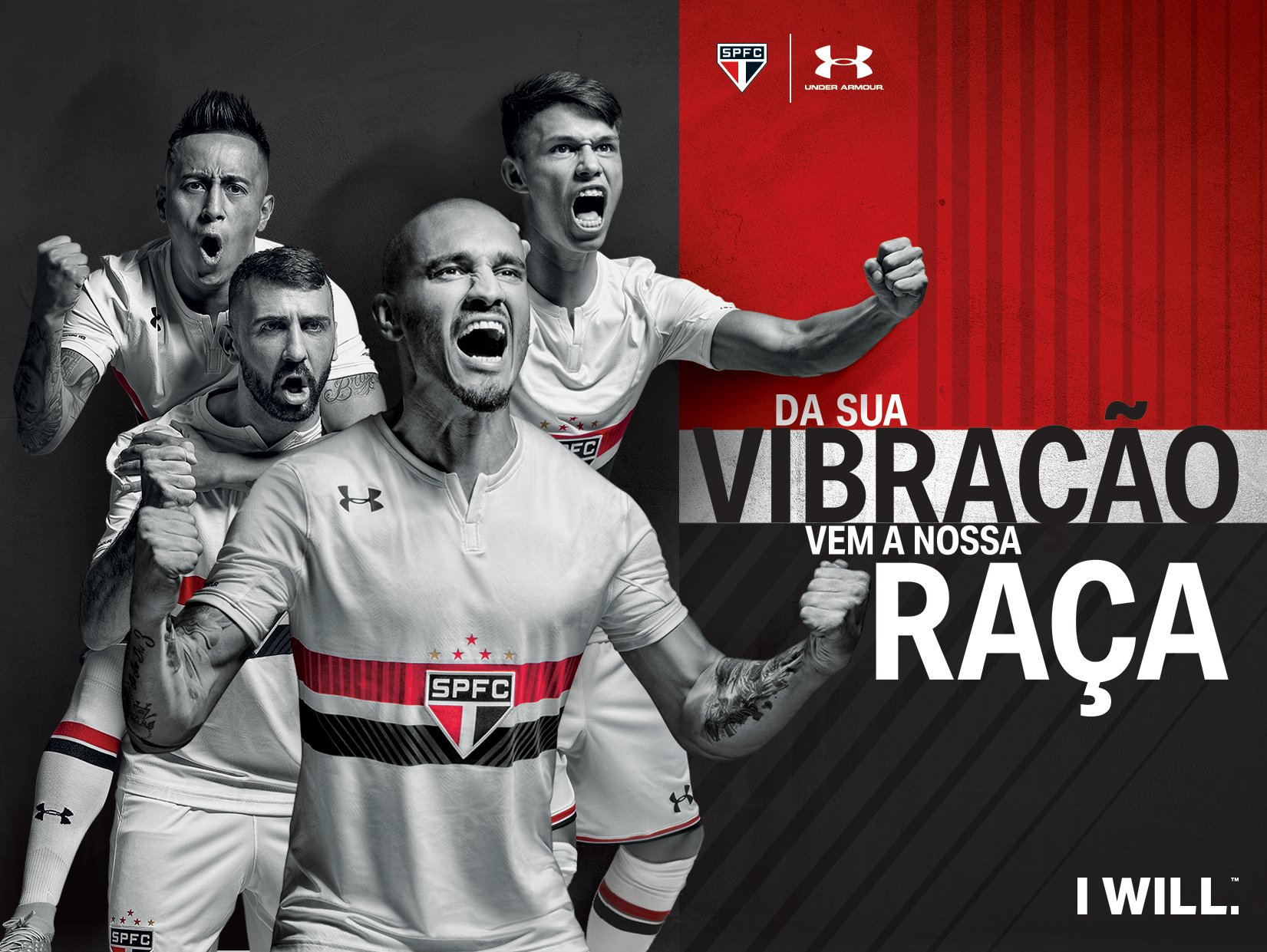 Nueva camiseta titular del São Paulo | Foto Under Armour