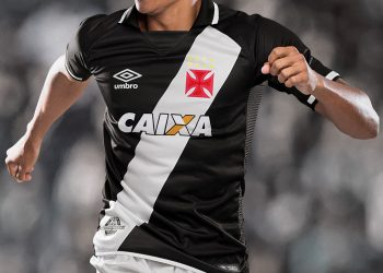 Nueva camiseta titular del Vasco Da Gama | Foto Umbro
