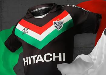 Nueva camiseta de Vélez Sarsfield | Foto Umbro
