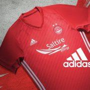 Nueva camiseta del Aberdeen FC | Foto Twitter Oficial