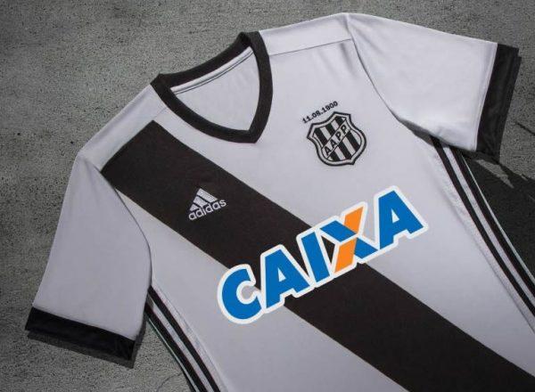 Nueva camiseta del Ponte Preta | Foto Adidas