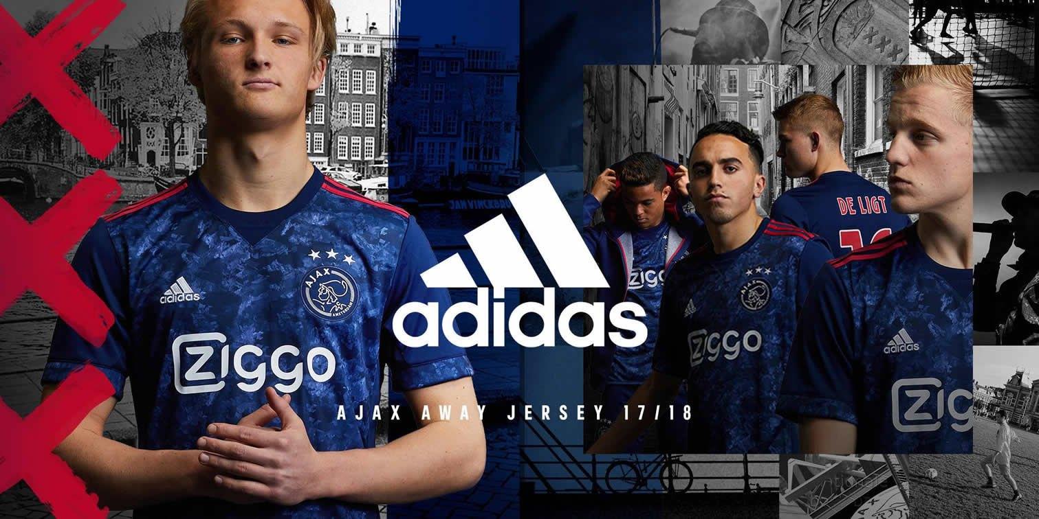 Nueva camiseta suplente del Ajax | Foto Web Oficial