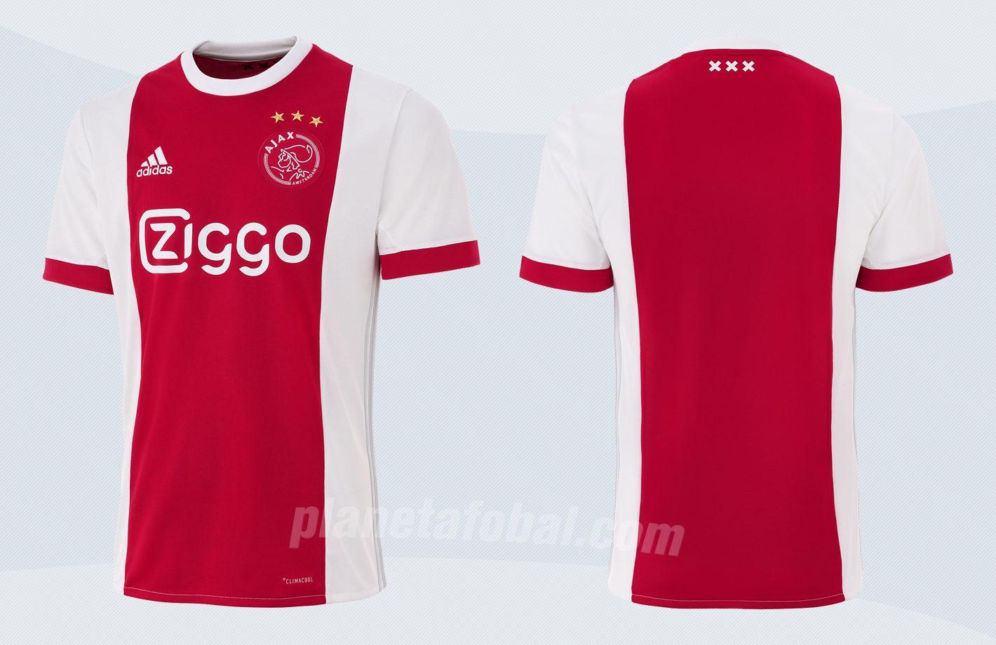 Nueva camiseta titular del Ajax de Holanda | Imágenes Web Oficial
