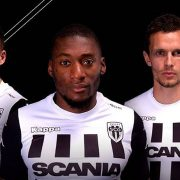 Nuevas camisetas del Angers SCO | Foto Web Oficial