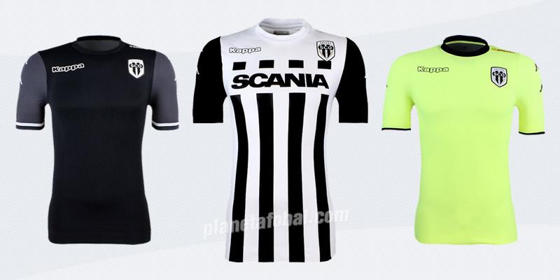 Nuevas camisetas del Angers SCO   Foto Web Oficial