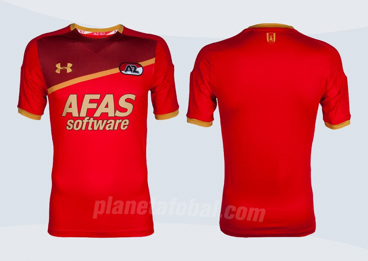 Nueva camiseta titular del AZ Alkmaar | Imágenes Web Oficial