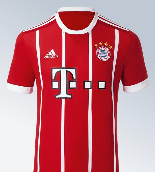 Nueva camiseta del Bayern Múnich | Foto Web Oficial