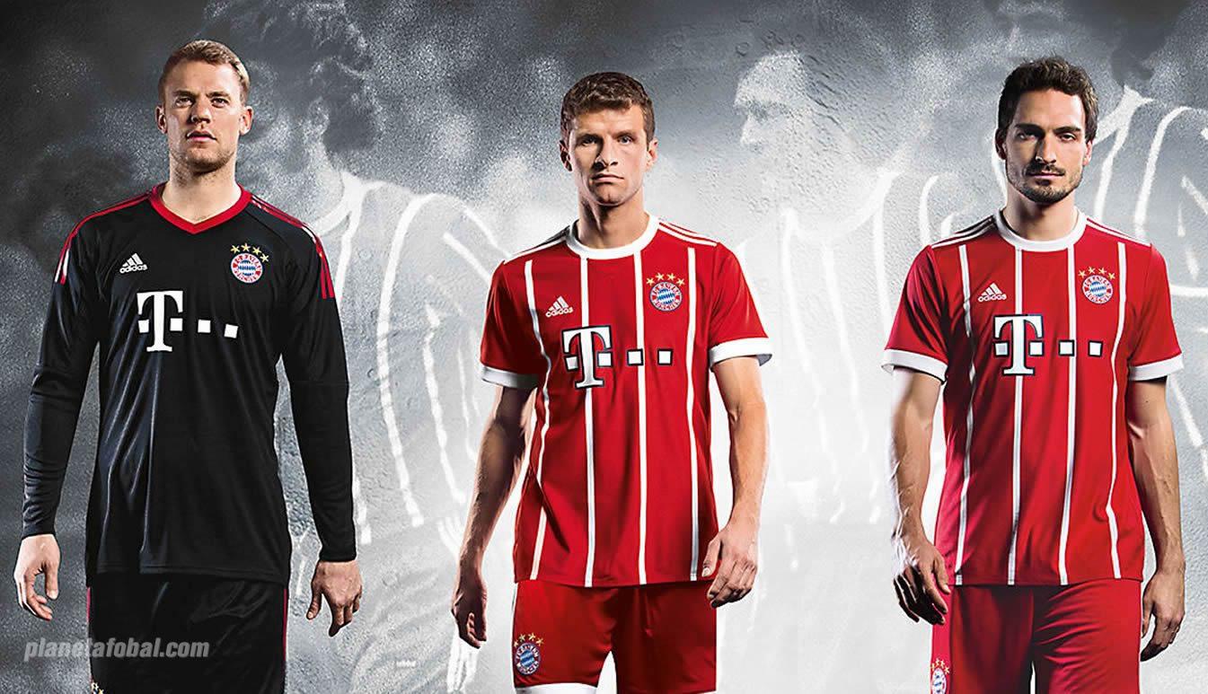 Nueva camiseta del Bayern Múnich | Foto Adidas
