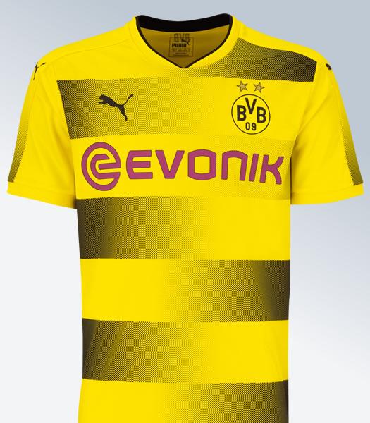 Nueva camiseta titular del Borussia Dortmund | Foto Web Oficial