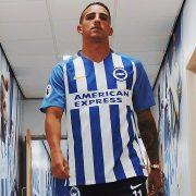Camiseta titular del Brighton & Hove Albion   Foto Web Oficial