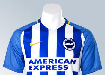 Camiseta titular del Brighton & Hove Albion | Foto Web Oficial