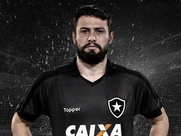 Camiseta suplente del Botafogo | Foto Twitter Oficial