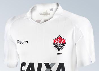 Nueva camiseta suplente del EC Vitória | Imágenes Gentileza Topper