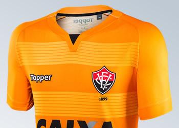 Nueva camiseta de arquero del EC Vitória | Imágenes Gentileza Topper