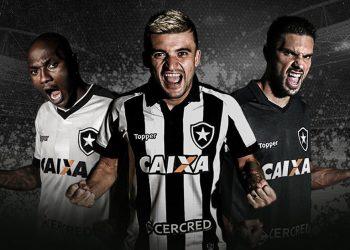 Nuevas camisetas del Botafogo | Foto Twitter Oficial