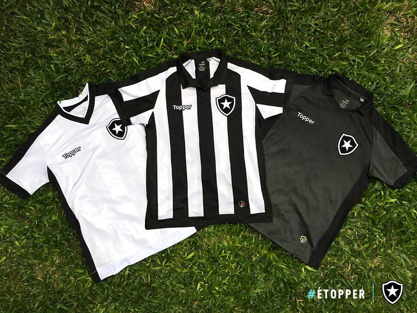 Nuevas camisetas del Botafogo | Foto Topper