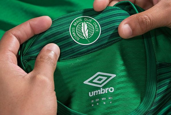 Camiseta titular del Chapecoense | Imagen Web Oficial