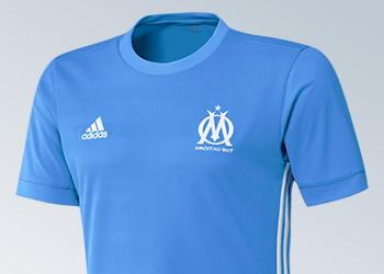 Camiseta suplente del Marsella | Imágenes Web Oficial