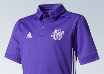 Tercera camiseta del Marsella | Imágenes Web Oficial