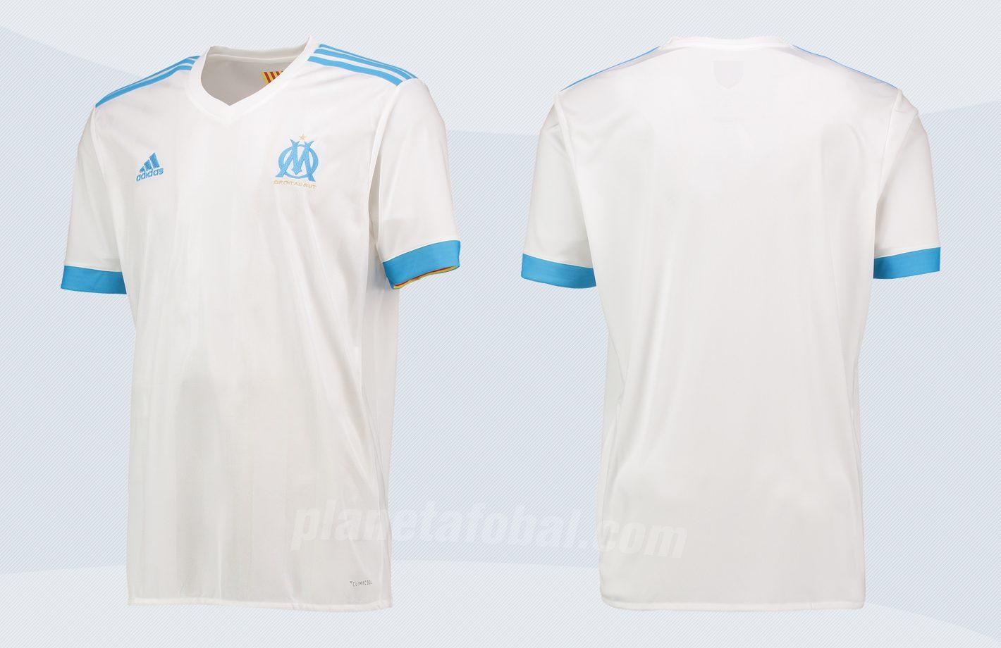 Camiseta titular del Marsella | Imágenes Web Oficial