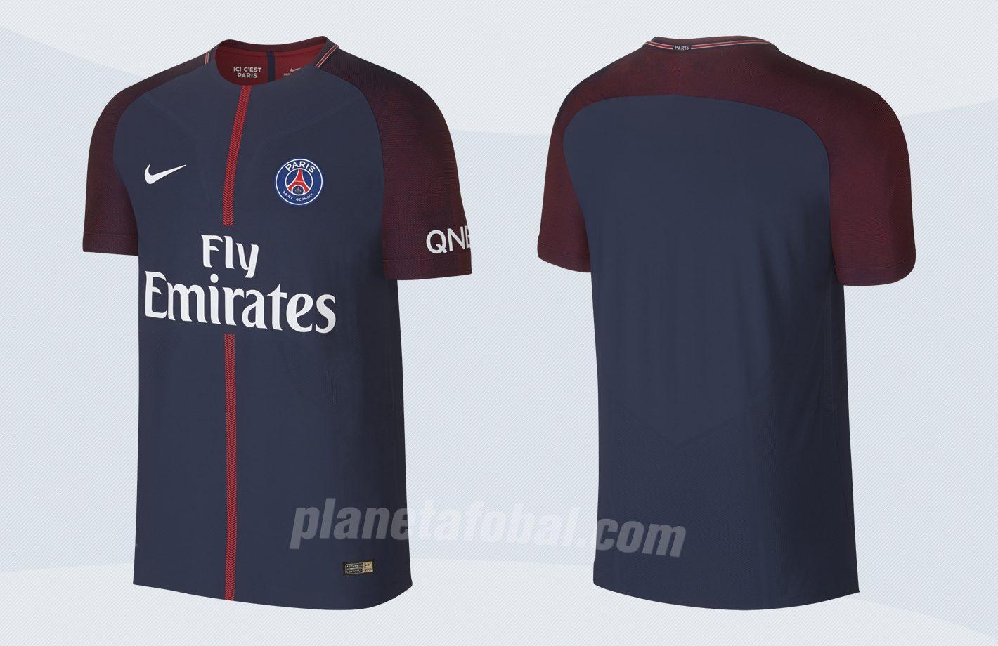 Nueva camiseta del PSG | Imágenes Nike