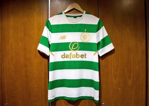 Camiseta titular 2017/18 del Celtic de Escocia | Foto New Balance