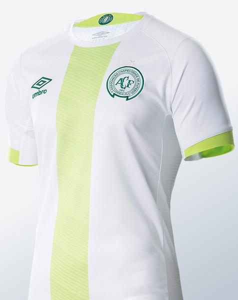 Camiseta suplente del Chapecoense | Imagen Web Oficial